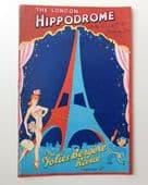 Folies Bergere Revue theatre programme vintage 1950 London Hippodrome